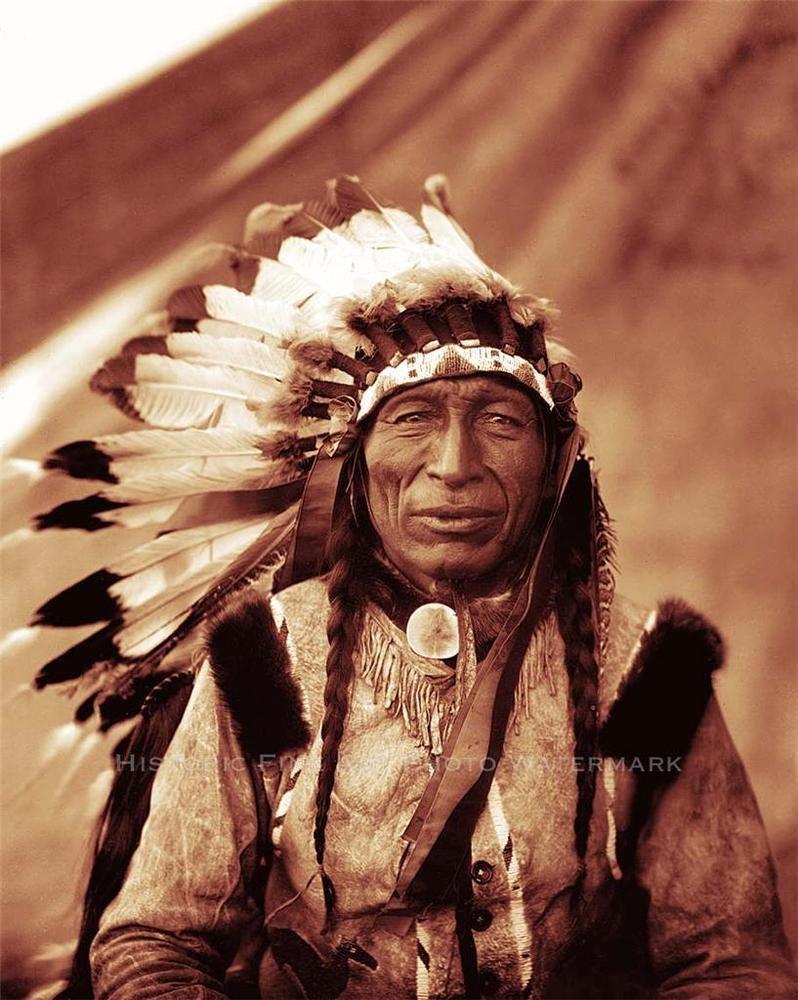 Oglala Lakota Indian Chief Iron Tail Photo Native American Old
