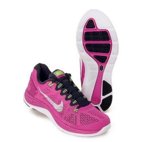 Womens Nike Lunarglide 5 Running Shoe Club PinkGridironFlash
