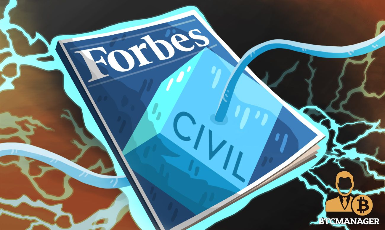 Business Media Giant Forbes Has Partnered With Civil A Blockchain Based Firm With The Intention Of Using A Decentralized Network Blockchain Forbes Publishing