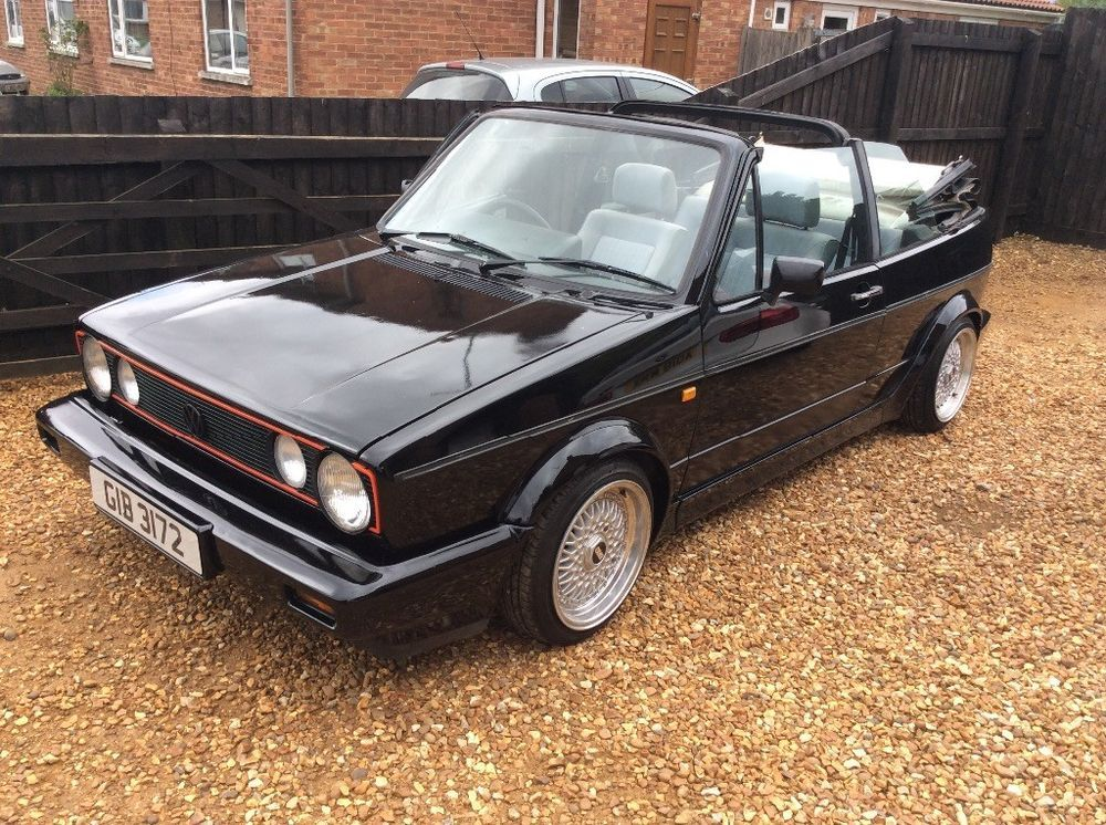 Vw Golf Mk1 Gti Cabriolet Convertible