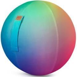 Sitting Ball Sitting Ball »rainbow«, mit abnehmbarem Bezug, waschbar, Griff mit Klettband
