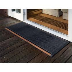 Photo of Outdoor Fussmatte New Standard Rizz Grau, Designer Trudie Zuiddam / Well Design, 2,2 x 120 x 70 cm Rizz