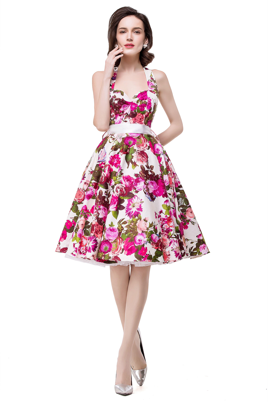 Fashion women\'s dresses_flower print dresses_summer fashion dresses ...