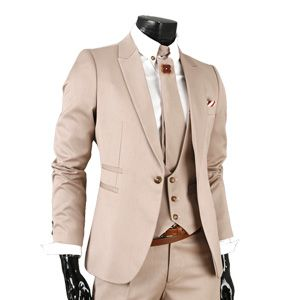 GL5027-BEIGE) Mens Business Slim Fit Dress Suits $171.5 | Vintage ...