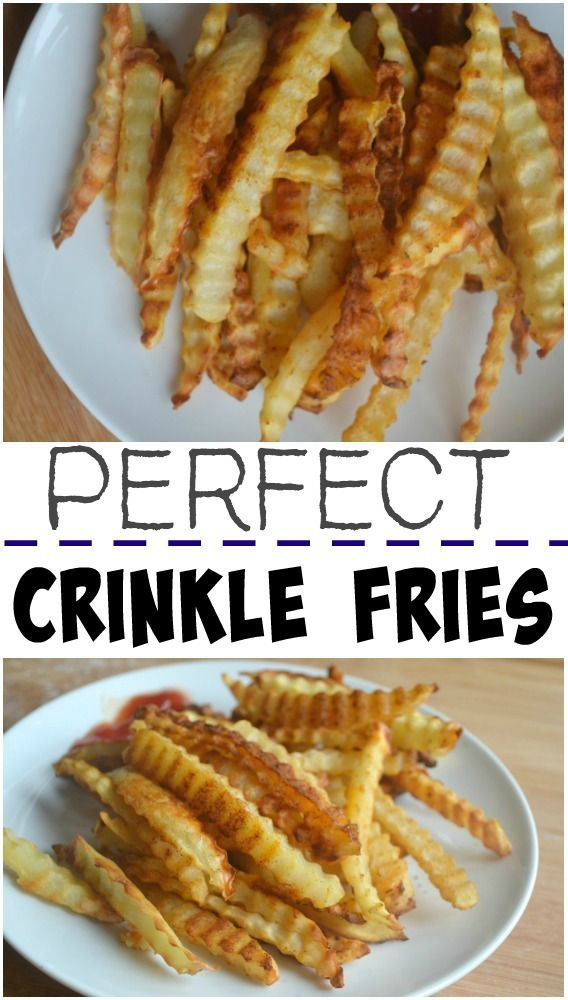 DIY Crinkle Fries -Recipe and Video | Make the Best of Everything | Bloglovin'