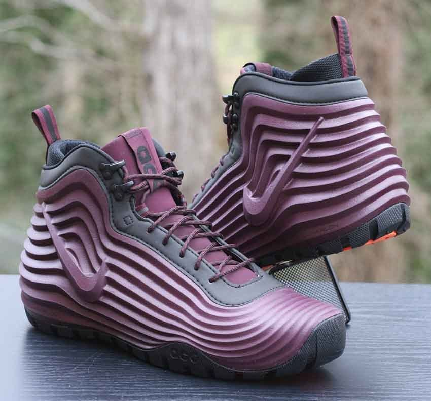 competitive price 2757e 3fbb4 Nike ACG Lunardome 1 Sneakerboot Burgundy Black 654867-669 Men s Size 11   Nike  HikingTrail