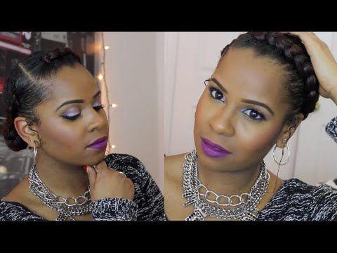 Cute Goddess Braids Video Natural Hair Styles Goddess