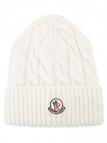 MONCLER Cable Knit Hat by Moncler Cable Knit Hat 602d9f57b96