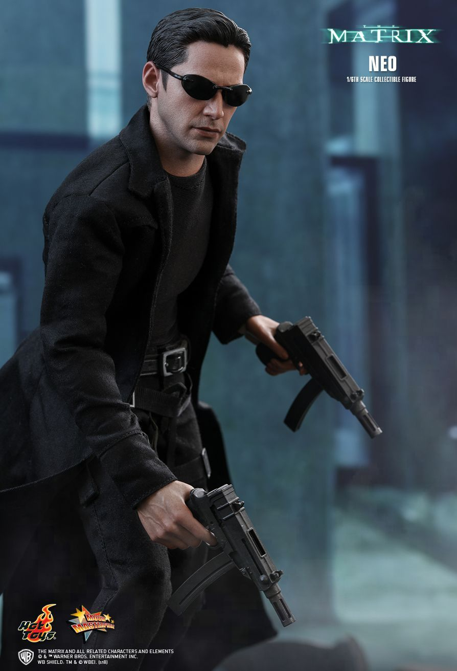 Hot Toys The Matrix Neo 1 6th Scale Collectible Figure