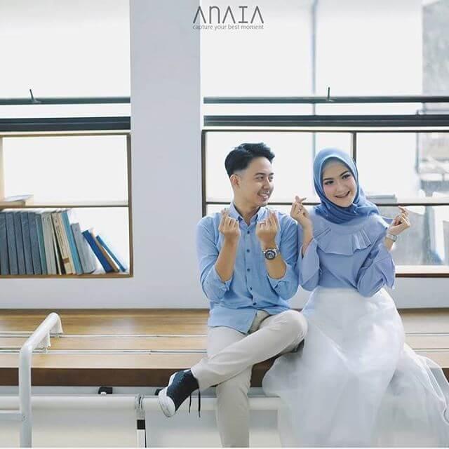 Pin Di Konsep Prewedding Outdoor Foto Prewedding Hijab