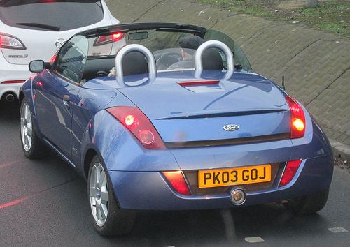 Ford Ka Convertible In Winter January 2015 Bristol Viewfinder