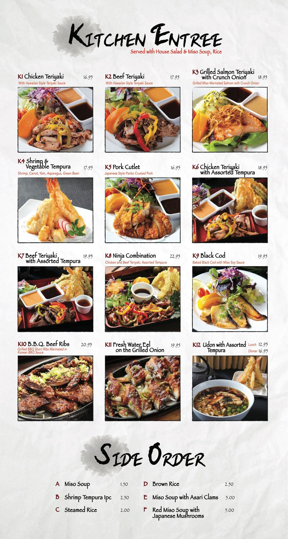 Menu - Fusion Sushi Japanese Restaurant | Manhattan Beach and Long ...