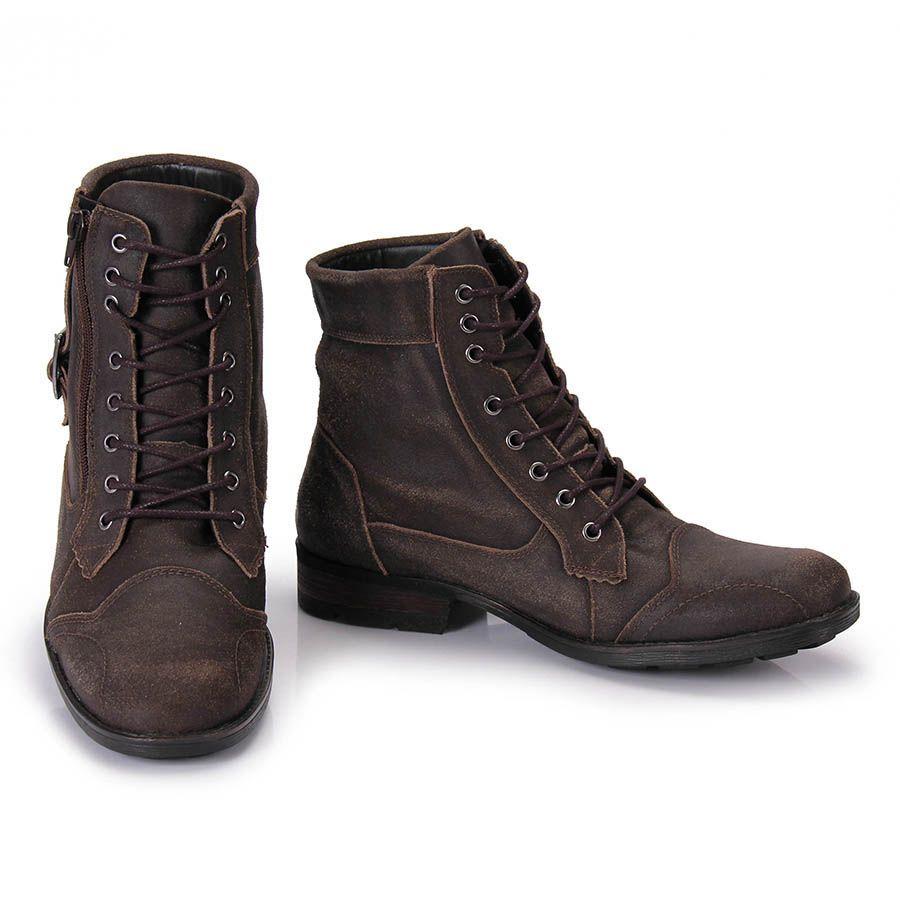 e438813fe1 Bota Masculina Metropolitan 714523P - Cafe - Passarela Calçados - Calçados  online