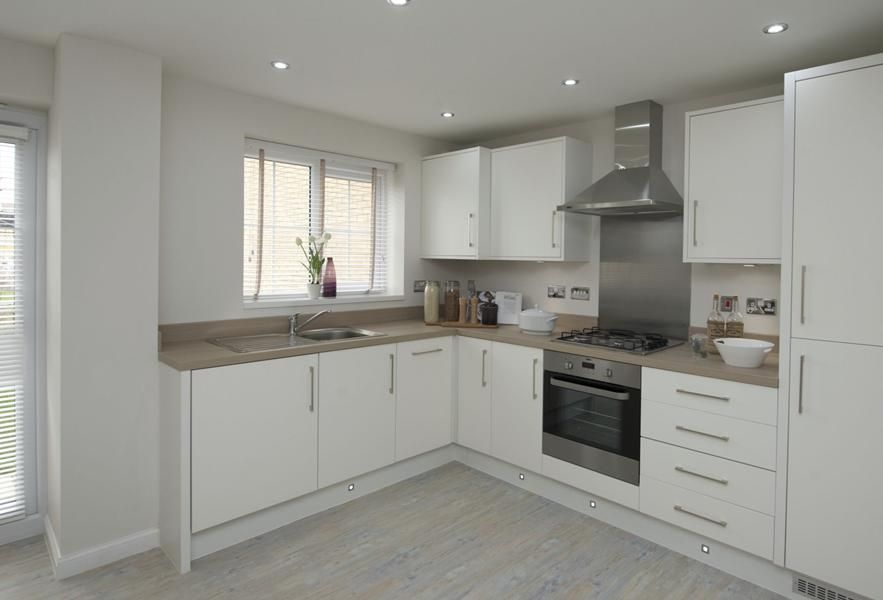 Love Cream Units With Wooden Tops The Finchley Kitchen