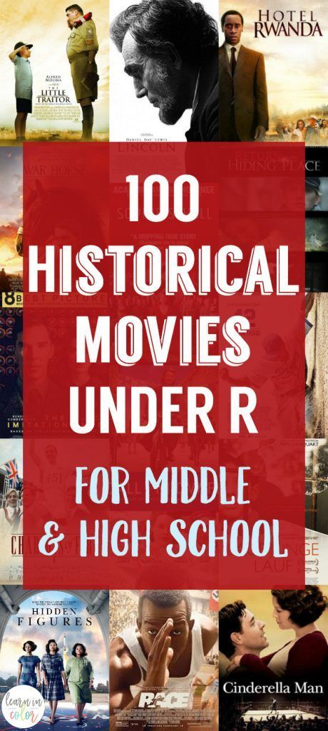Historical Movies for Middle School and High School Under R – #historical #middl…