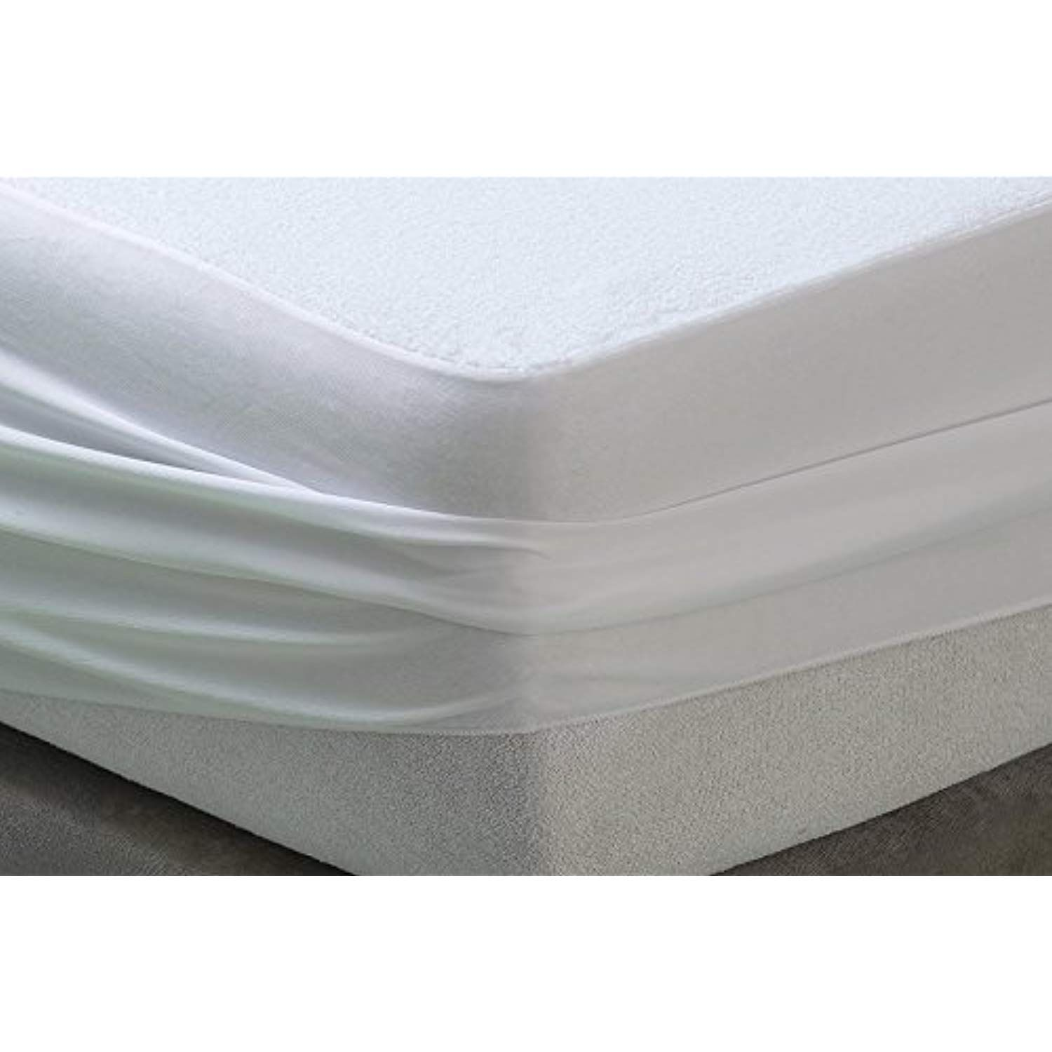 Mattress Protector WATERPROOF terry cotton Soft Hypoallergenic Fitted Pad Cover