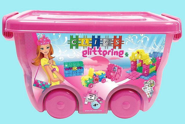 Enjoy The Sparklier Side Of Life With This Easy To Move Roller Box Includes 400 Glitter Clics And Accessorries Check Out With Images Toys Gift Building Toys Toys