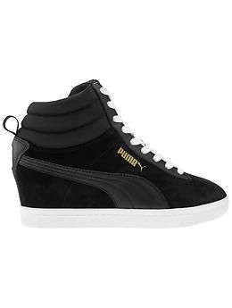 c94eb617d7f4 Classic Wedge High Tops by Puma North America - The hidden wedge sneaker  that gives you height with the comfort of your favorite kicks.