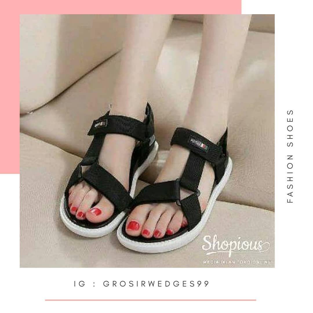 Pusat Sepatu Wedges Murah Kode Sandal Jj Contact Wa 0821