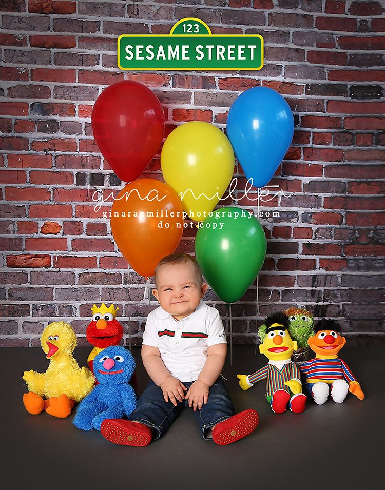 Can you tell me how to get to Sesame Street children Gina