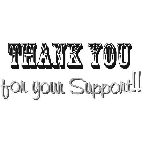 THANK YOU for supporting our small business for your