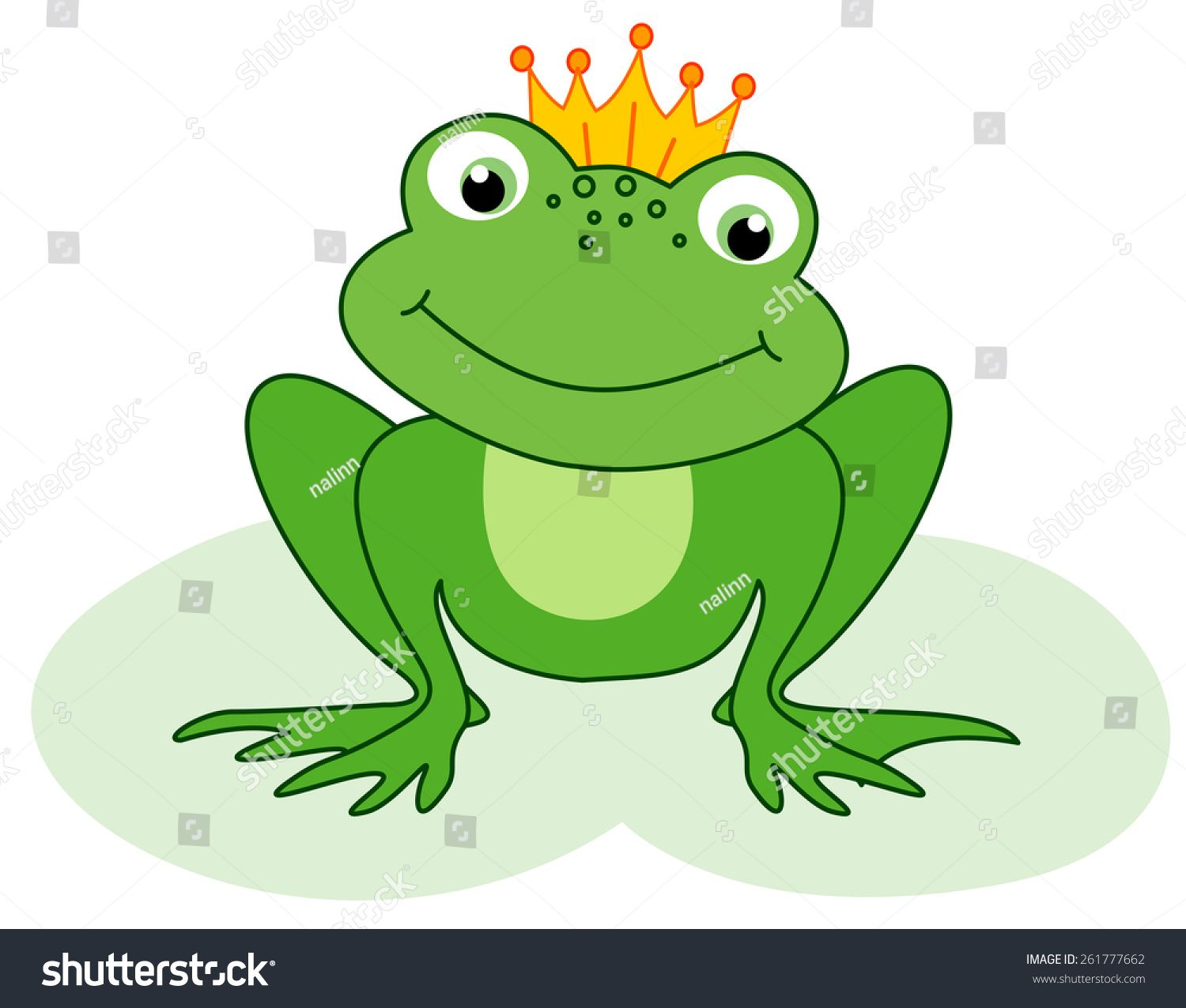 Cute Little Frog Prince With A Golden Crown On Its Head Illustration Ad Ad Prince Frog Cute Golden In 2020 Frog Prince Frog Cute Frogs