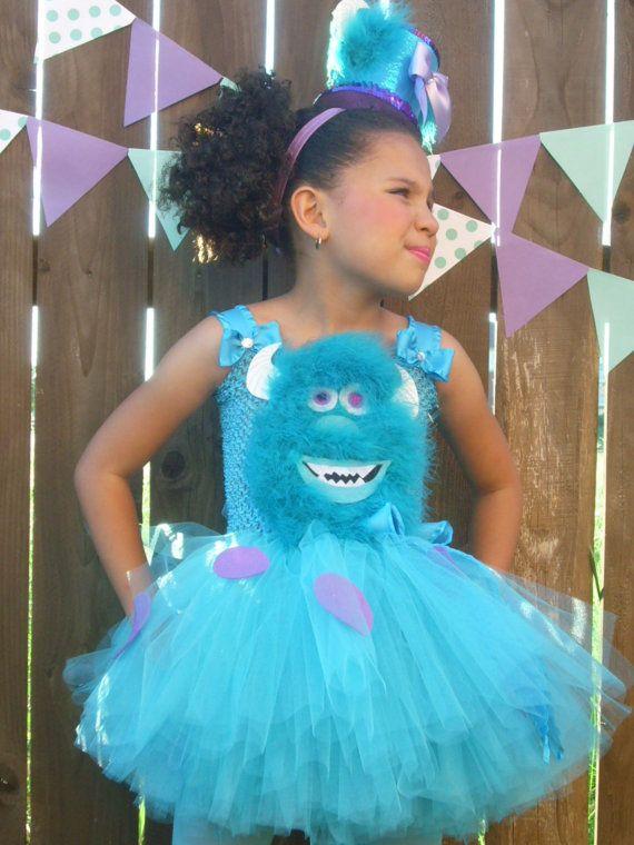 Monster\u0027s Inc Sully Tutu Dressstume, tutu set, birthday - halloween tutu ideas