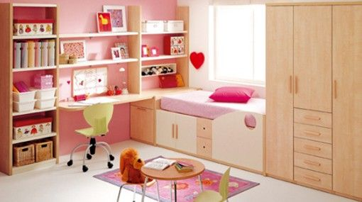 ideas para decorar un dormitorio rosa