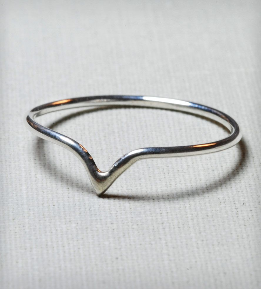 $22 Silver Delicate Point Ring | Jewelry Rings | Gunnard Jewelry | Scoutmob Shoppe | Product Detail