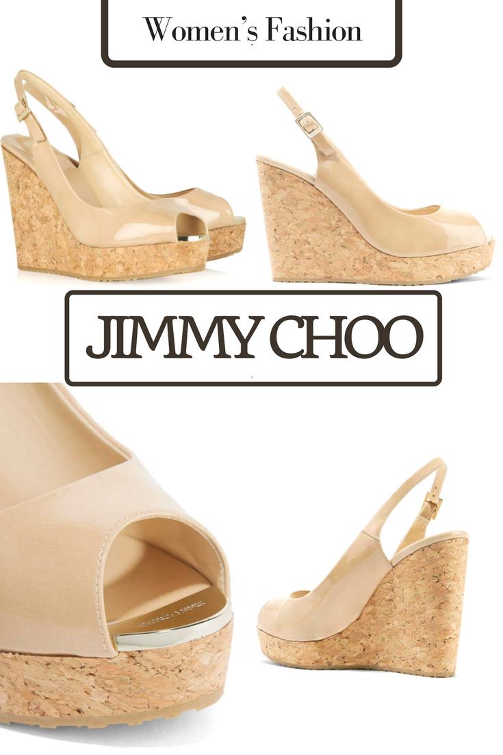 c741c22ced03 Net-A-Porter Jimmy Choo - Prova 120 Patent-leather Wedge Sandals ...
