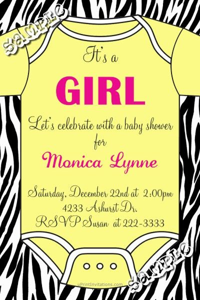 Onesie Baby Shower Invitations - CHOOSE YOUR ONSIE COLOR - CHOOSE - baby shower invitations download