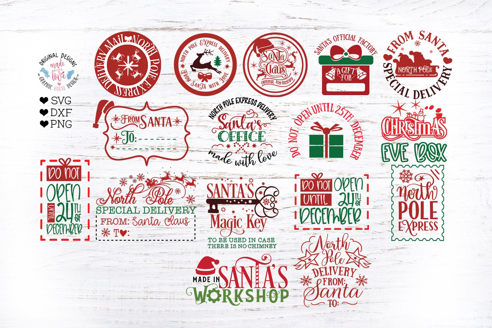 Pin On Winter Christmas New Years Cut Files Svg Dxf Png