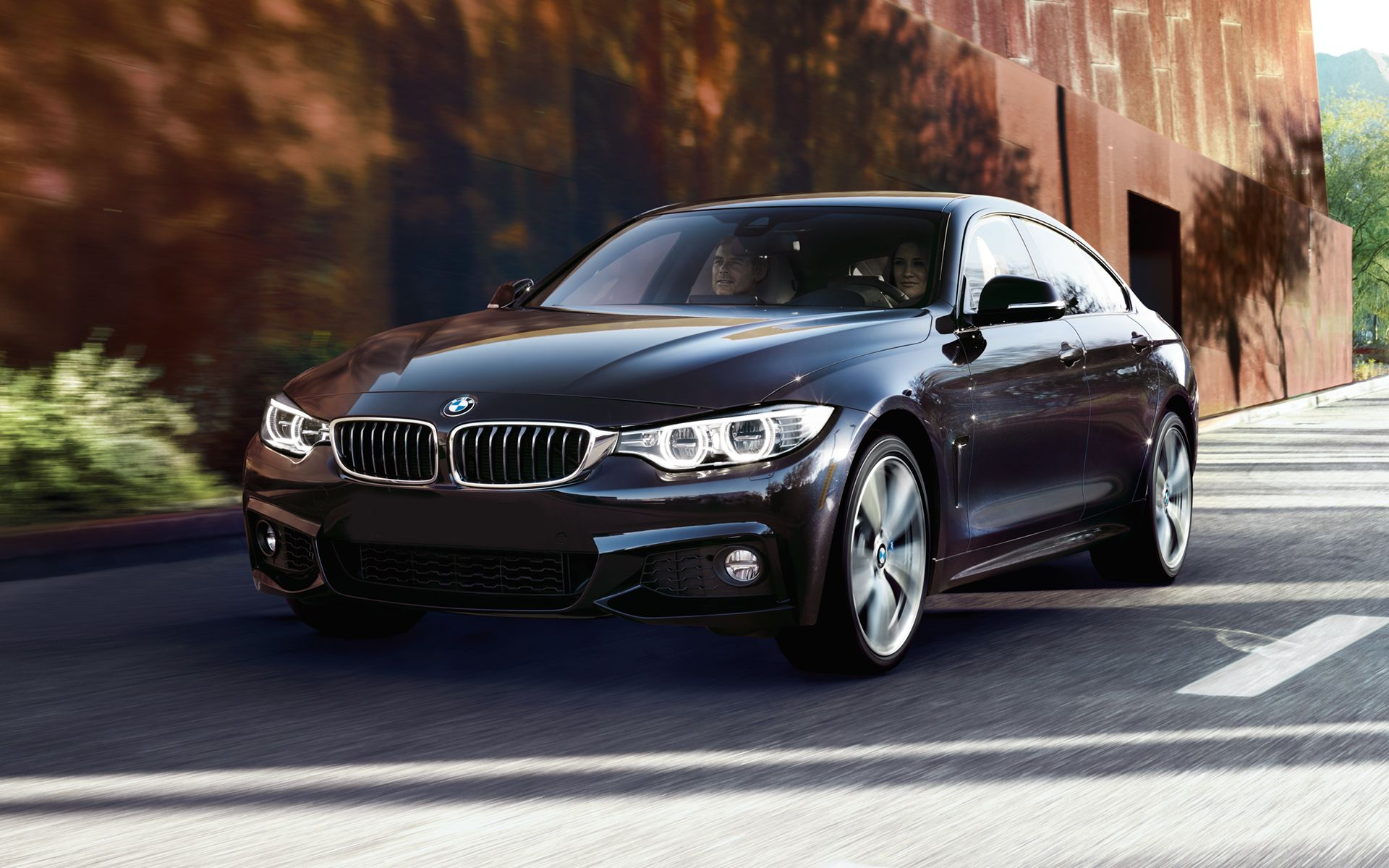 Bmw 4 Series Gran Coupe In Carbon Black Metallic Bmw 4 Series