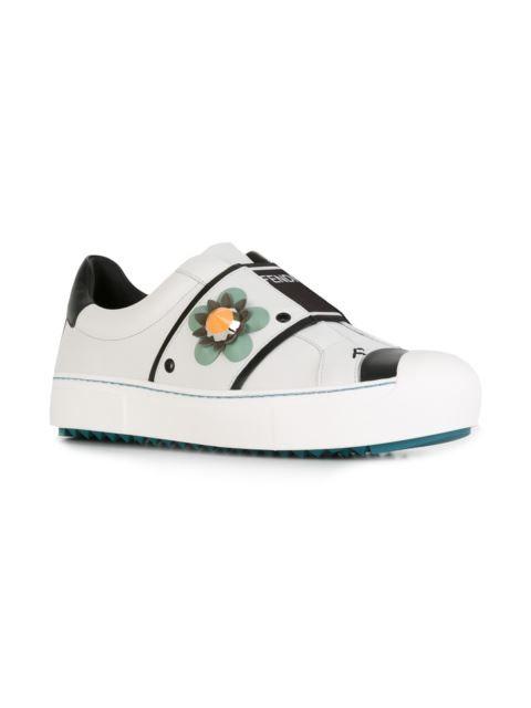 Sneakers, Fendi shoes, Slip on sneakers