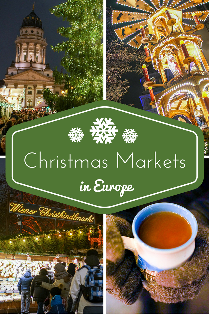 Budapest Christmas Markets Map.European Christmas Markets Through Four Countries Wander