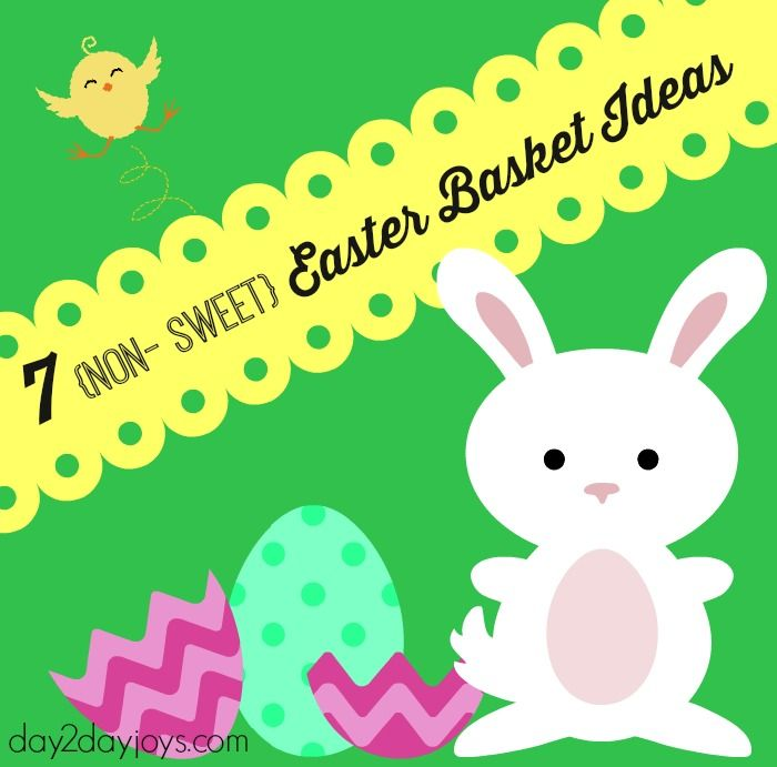 We try to avoid sweets since kiddos get plenty of those from easter baskets negle Choice Image