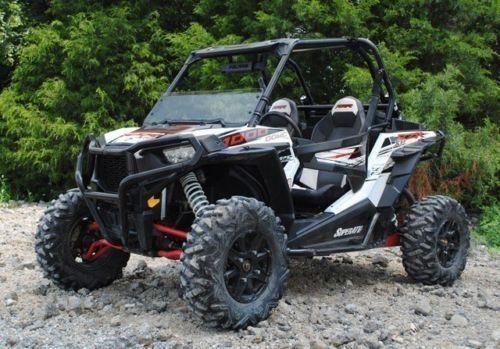 Super ATV Polaris RZR 900 / 1000 Tinted Half Windshield