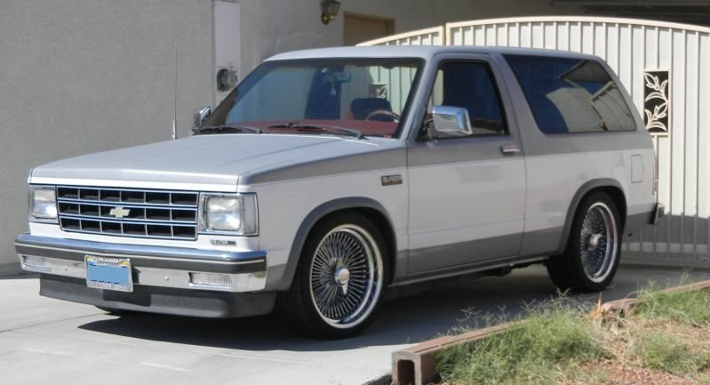 1986 S 10 Blazer Chevy S10 S10 Blazer Chevy