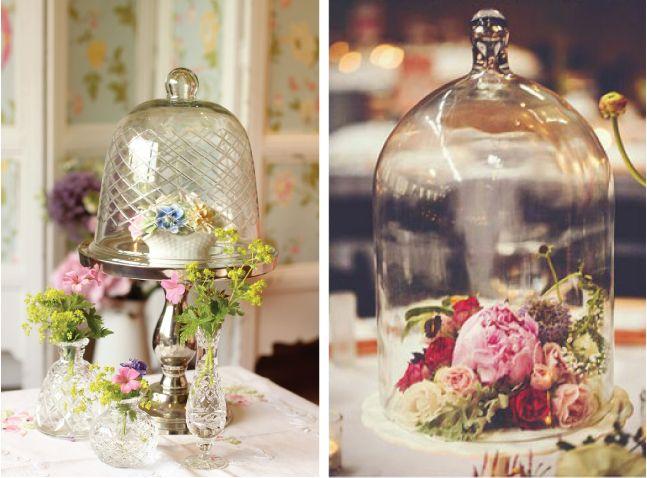 Bell Jar Decorating Ideas Weddings Trends  Bell Jars  Bell Jars Wedding Trends And