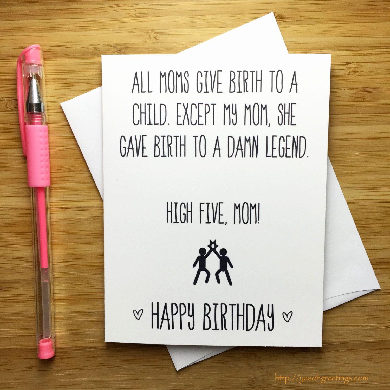 30 rock birthday card luxury funny happy birthday mom card