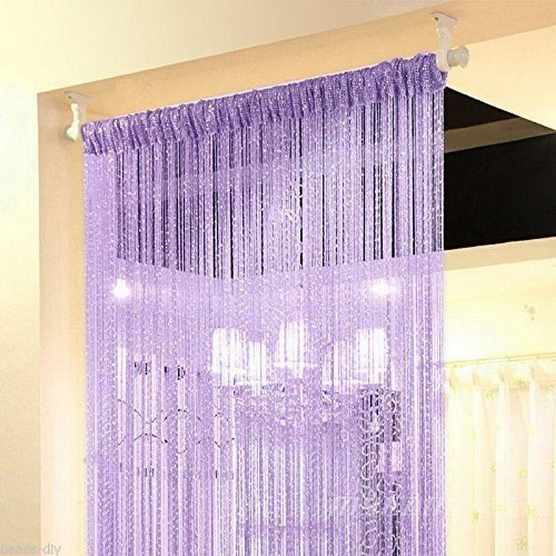 Bd Strings Drop Flat Door Window Curtain Divider Room Blind Tassel