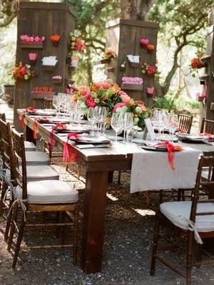 Decogarden mesas para fiestas de verano en el jard n - Decoracion fiesta jardin ...