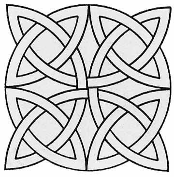 Celtic mosaic coloring pages ~ Geometric Coloring Pages - mosaic patterns | Celtic ...