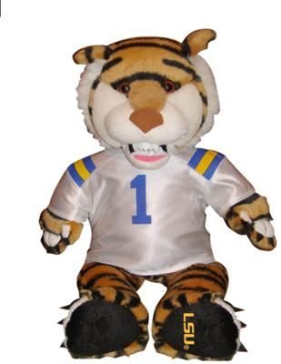 Mike The Lsu Tiger Mascot Check Out This Lsu 15 Stuffed Mike The