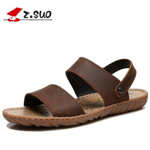 630d24912d10 ZSUO Summer Leather Sandals From Touchy Style Outfit Accessories ( Black    12 )