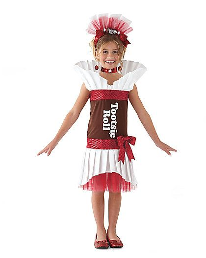 Tootsie Roll Girls Costume Costumes Costumes Halloween