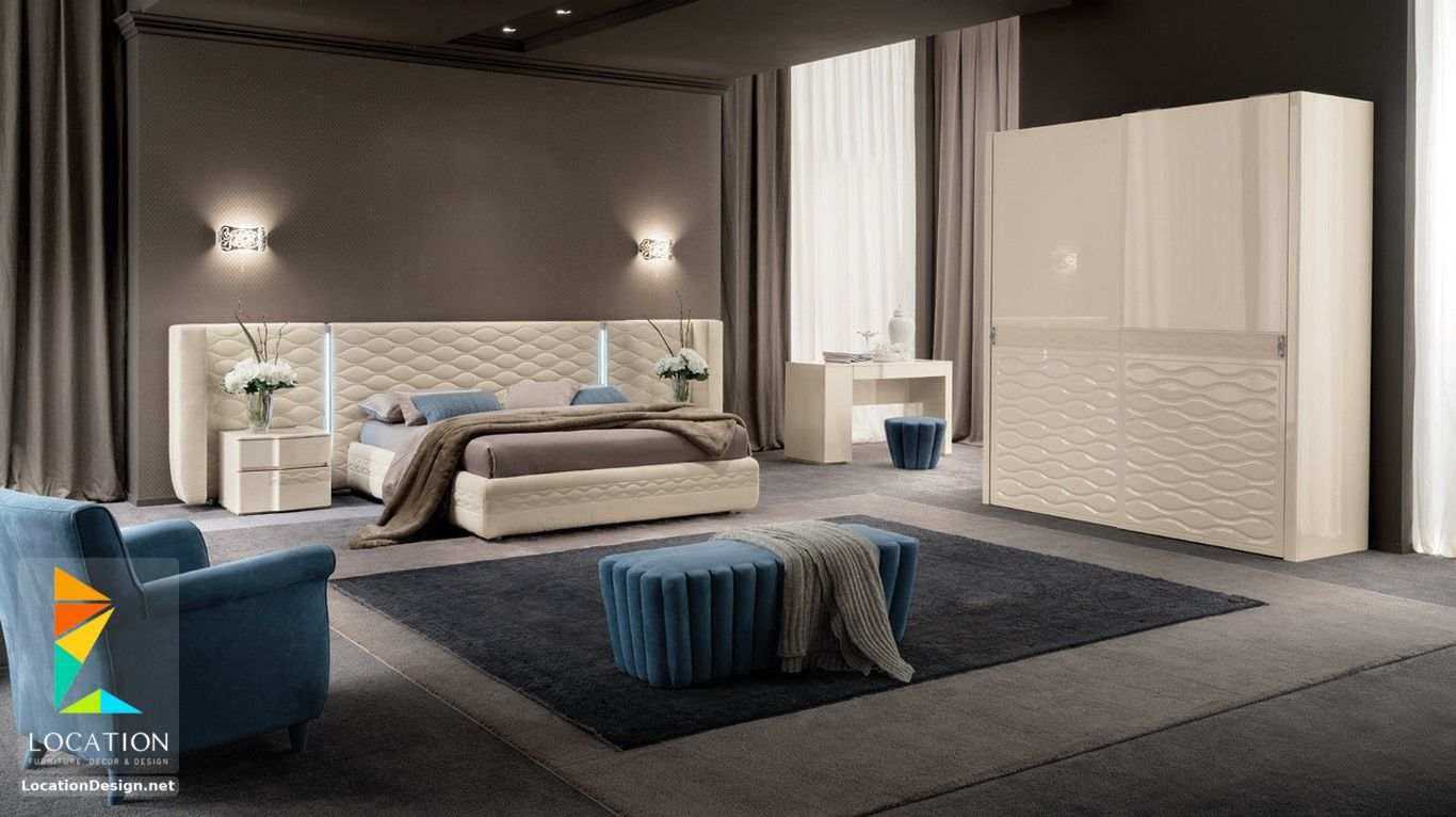غرف نوم عرسان مودرن 2018 2019 لوكشين ديزين نت Master Bedroom Furniture Bedroom Furniture Design Modern Furniture Living Room