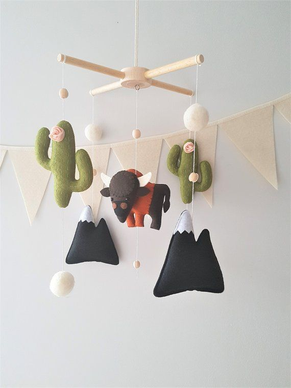 Cactus Baby Mobile , Mobile Nursery Boy, Mobile baby boy, Baby shower gift boys, Buffalo nursery, Mobile bébé, Woodland mobile is part of Cactus decor Baby Shower -  14   ♥ Please note  Mobiles should be only use for decoration! It is not a toy! Mobiles should be securely hang out of reach of children   The colors on the monitor may vary depending on the settings   If you have any questions please feel free to let me know! I will do my best to make you happy with your purchase  Make your choice, enjoy your purchase ) ♥♥♥ Please note that delivery is on average 1425 days  Please make order in advance because International Shipping can take for 46weeks In some countries such as Mexico, Brazil, Australia, New Zealand, Ireland and some others