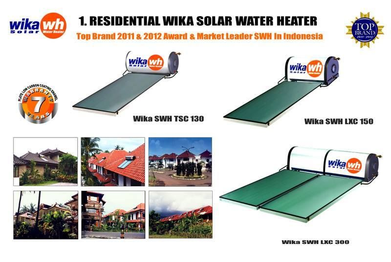 SERVICE WIKA SOLAR WATER HEATER (SWH) DI DAERAH JAKARTA