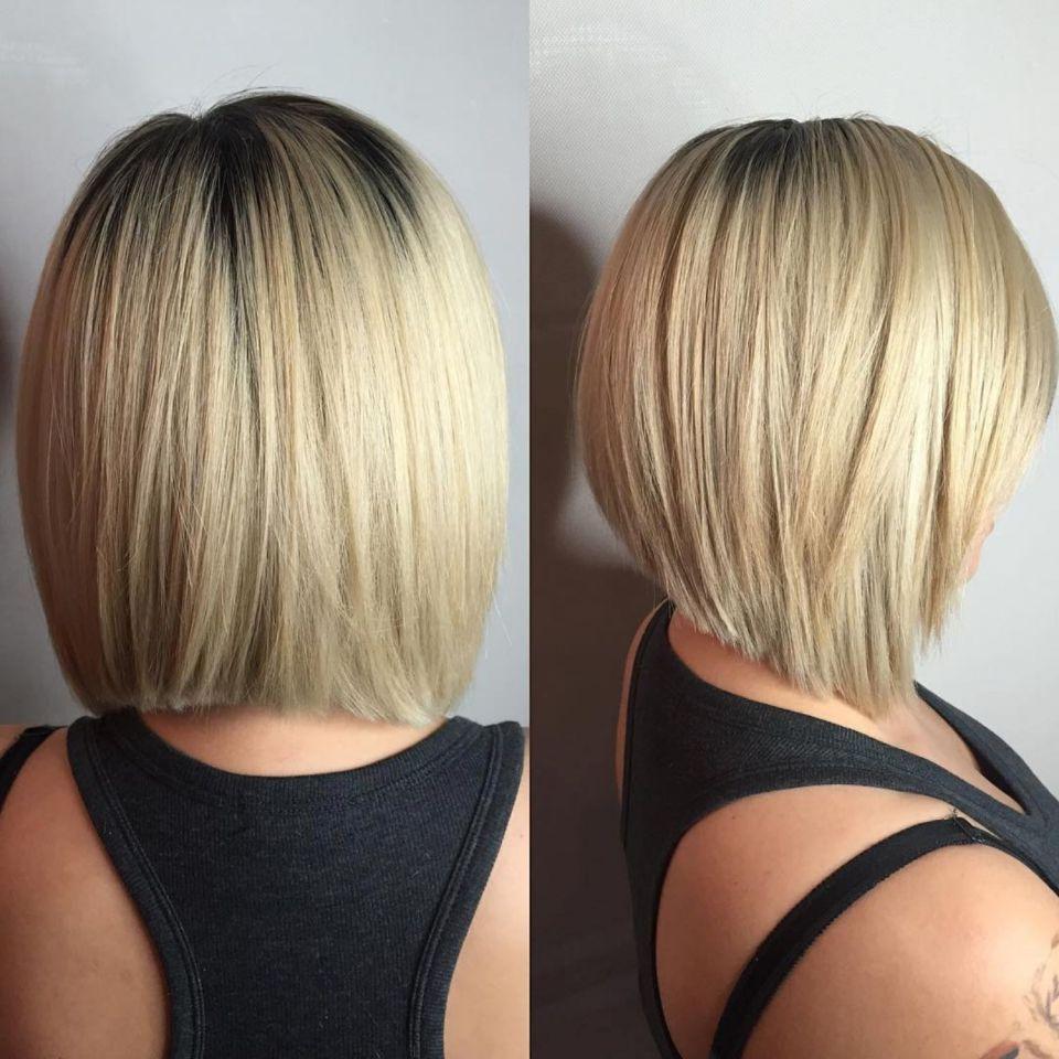 60 Beautiful And Convenient Medium Bob Hairstyles In 2020 Angled Bob Hairstyles Medium Bob Haircut Angled Bob Haircuts